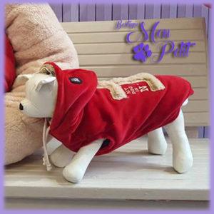 Outfit: la Felpa di I Love My Dog la trovi da Mon Petit Boutique