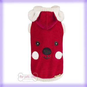 Outfit: My Christmas Bear Sofa di For Pets Only la trovi da Mon Petit Boutique