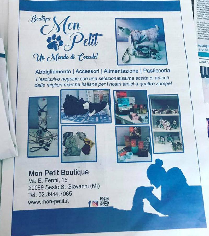 Mon petit boutique sul giornale metropolis notizie mon for La mia boutique gennaio 2017